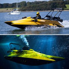 Under water sub/speed boat.