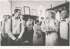 Preston Priory Barn Suffolk - Vintage Wedding