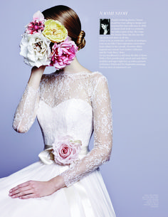 Brides July/August 2013 Issue - Profile of Naomi Neoh featuring 'Fleur'. naomineoh.com