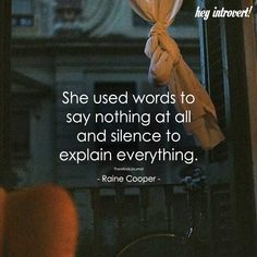 She Used Words to Say Nothing At All - https://themindsjournal.com/used-words-say-nothing/