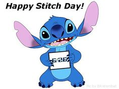 So June 26 is Stitch day Lilo Stitch, 626 Stitch, Lilo And Stitch Quotes, Lelo And Stitch, Disney Pixar, Disney And Dreamworks, Disney Magic, Stitch Drawing, Ohana Means Family