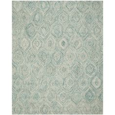 Found it at AllModern - Ikat Ivory & Blue Area Rug
