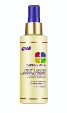 Pureology Perfect 4 Platinum Miracle Filler Treatment from £13.00