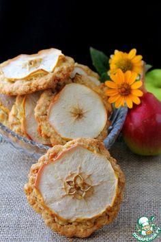 Овсяное печенье с яблоком и грушей - кулинарный рецепт