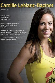 My Crossfit Motivation Camille Leblanc-Bazinet Crossfit Women, Crossfit Gym, Crossfit Athletes, Crossfit Inspiration, Fitness Inspiration, Body Inspiration, Camille Leblanc Bazinet, Crossfit Motivation, Motivation Quotes