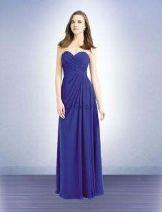 Bill Levkoff 732, Madame Bridal Bridesmaids, Chiffon Bridesmaids Dress, Strapless Dress, Beautiful Bridesmaids
