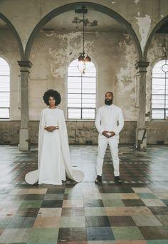 6 Non-Traditional Wedding Dresses - Solange