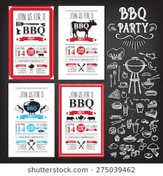 Find Barbecue Party Invitation Bbq Template Menu stock images in HD and millions of other royalty-free stock photos, illustrations and vectors in the Shutterstock collection. Thousands of new, high-quality pictures added every day. Design Barbecue, Barbecue Party, Food Menu Template, Menu Templates, Bbq Menu, Pizza Menu, Bbq Catering, Menu Design, Party Flyer