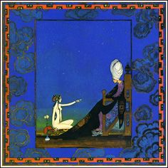 Kay Nielsen - A Thousand And One Nights (3 of 10) Prologue