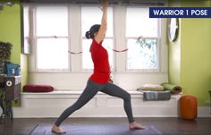 Yoga For Abs - Virabhadrasana 1