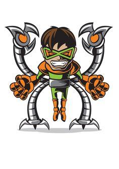 MARVEL COMICS MINIS on Character Design Served