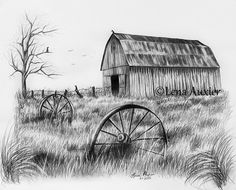 Barn Drawings in Pencil | Add it to your favorites to revisit it later.