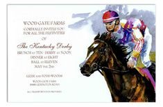 Got Giddy-Up Invitation #Derby #KentuckyDerby