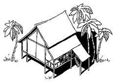 Climate Responsive Building - Appropriate Building Construction in Tropical and Subtropical Regions: 3. Design rules: 3.3 Design for warm-humid zones