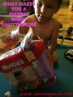 5 Ways To Become A Flexible Mom + a Huggies giveawat