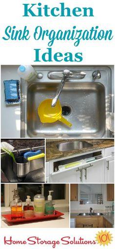 Genial Kitchen Sink Organization Ideas U0026 Storage Solutions