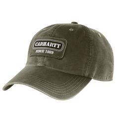 Carhartt Mens Ackers Cap 101180 Army Green c17928892a53
