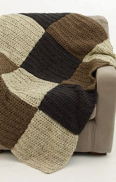 Easy and Quick Crochet Afghan pattern.