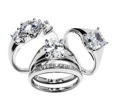 From the Madison Collection. Each style can be easily customized and is available in platinum, white, yellow & rose gold.