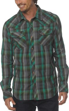 Prana Male Holdstad Shirt - Men's