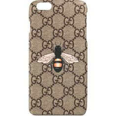 Gucci Bee Print Iphone 6 Plus Case (2 970 ZAR) ❤ liked on Polyvore featuring men's fashion, men's accessories, men's tech accessories, accessories, wallets & small accessories, women and gucci