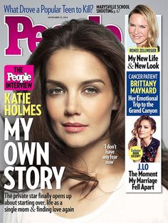Katie Holmes Covers People Magazine, Talks About Her Future And Life (PHOTO)