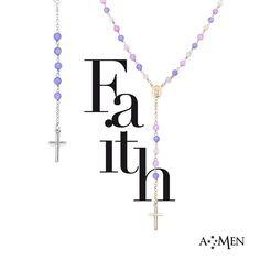 Rosari in argento e pietre naturali. Vivi la tua Fede con Amen Collection. www.fasologioielli.com