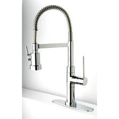 LaToscana 78CR557PHD Elba Single Handle Pull-Out Spray Kitchen Faucet, Chrome Finish * More details can be found by clicking on the image. #AllAboutKitchen