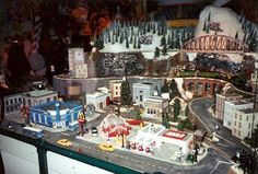 images of miniature Santas Village | Miniature village at Macy's SantaLand - Picture of Macy's Herald ...