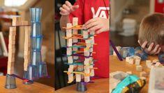 Bauen mit Kindern - konstruktive Spiele für Jungen und Mädchen