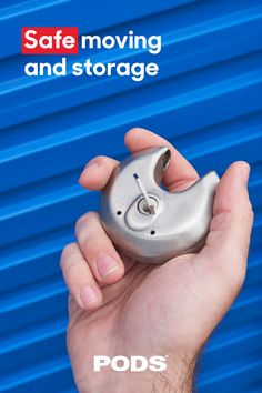 When you move and store with PODS, only you have the key to your container. Keep your belongings safe and lock your container down with our durable disc lock. #MovingAndStorage Storage Pods, Storage Center, Storage Containers, Moving Supplies, Moving And Storage, Secure Storage, Moving Tips, Key, Store