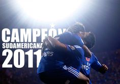 Best football (soccer) team ever! Universidad de Chile :D Vamos la U <3  #UChile #soccer #Chile #CopaSudamericana