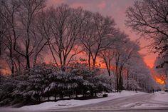 Long Island in winter (New York)