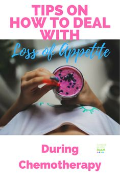7 Tips for dealing with loss of appetite during chemotherapy. Loss of appetite is a side effect of chemotherapy which can be difficult to manage. Learn how you can cope with loss of appetite better.