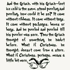 How the Grinch Stole Christmas - Favorite holiday movie!