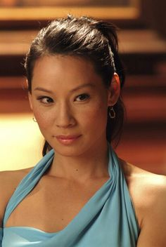 Lucy Lui in Charlie's Angels: Full Throttle. Man, what a lousy movie.