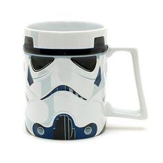 DISNEY STAR WARS STORMTROOPER KAFFEE BECHER MUG CUP:
