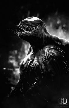 """""""The darkness that blankets this city is nothing. Nothing! Not compared to the shroud that Spider-Man pulled over me! He stole my life... shattered it... then cast it aside like yesterday's news! So it is only fitting, only fair, that I do the same to him!"""" - Venom"""