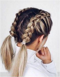 Braids With Curls, Pigtail Braids, Braids For Long Hair, Cornrows, Black Braids, French Braid Hairstyles, Braided Hairstyles Tutorials, Box Braids Hairstyles, Girl Hairstyles