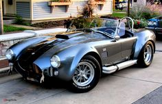 Awesome Shelby Cobra 427, but I, Adrian LeBlond, would like it better if it was blue with white stripes.