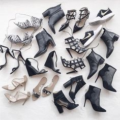 So many shoes. Decisions, decisions. // Follow @ShopStyle on Instagram to shop this look