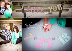 cute engagement picture ideas!  www.robynprestonphotography.com