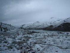 Nieve en la patagonia, Argentina