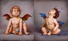 Little devils by DaryaPonyo.deviantart.com on @DeviantArt