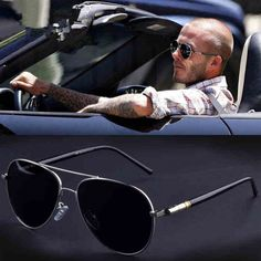 Aviation Metail Frame Quality Oversized Spring Leg Alloy Men Sunglasses Polarized Brand Design Pilot Male Sun Glasses Driving - To buy again Men's Accessories, Sunglasses Accessories, Unisex, Classic Fashion Trends, Glasses Trends, Aviator Glasses, Retro Sunglasses, Sunglasses Price, Spring Sunglasses