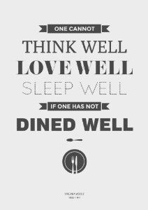 quotes fine dining - Google Search