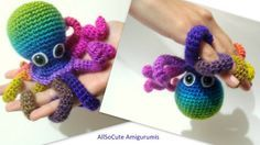 Crochet Tutorial Octopus Amigurumi Crocheted Octopus by AllSoCute
