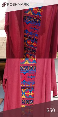 Not for sale Linday paird with leggings LuLaRoe Pants Leggings
