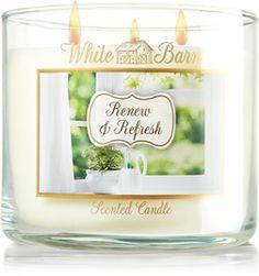 Renew & Refresh 3-Wick Candle - Slatkin & Co. - Bath & Body Works