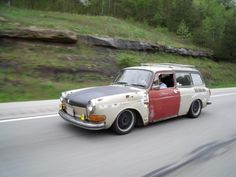 My old 1970 squareback with me at the wheel.